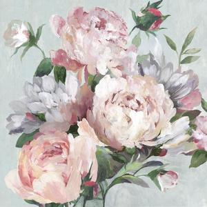 Pink Peony Garden by Asia Jensen