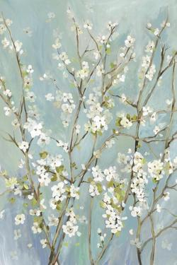 Teal Almond Blossoms by Asia Jensen