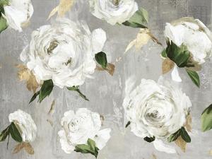 White Peony Garden by Asia Jensen
