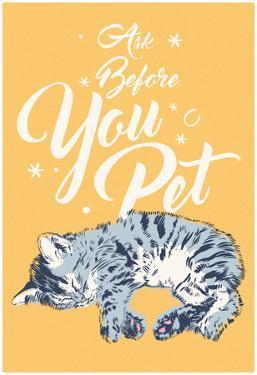 Ask Before You Pet- Vertical Script