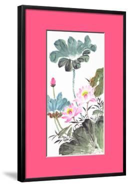 Abstract Lotus-Traditional Chinese Painting by aslysun