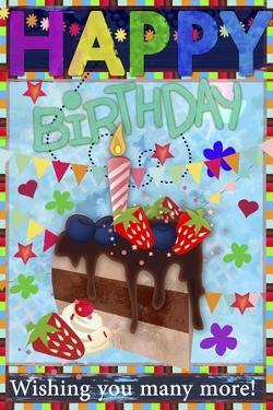 Birthday Art Amurad 002 by Asmaa' Murad