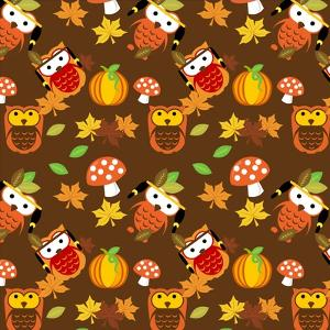 Fall Owls by Asmaa' Murad