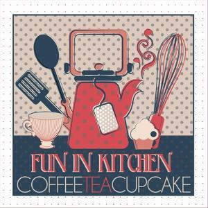 Fun in Kitchen I by Asmaa' Murad