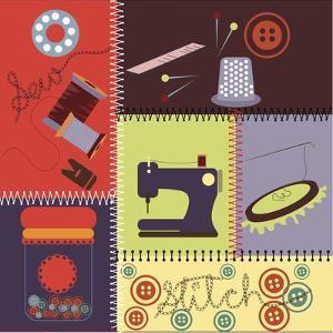 Sewing 07 by Asmaa' Murad