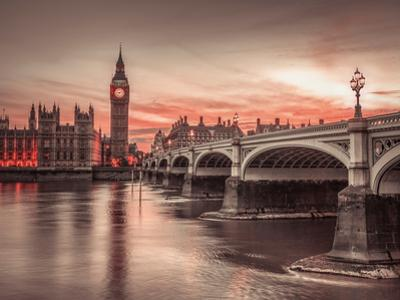 Big Ben Sunset by Assaf Frank