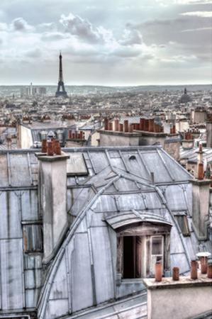 Paris Rooftops by Assaf Frank