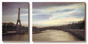 Paris Sunset by Assaf Frank
