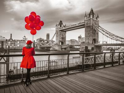Red Balloons by Assaf Frank
