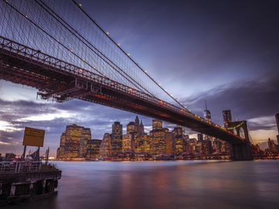 Towards New York by Assaf Frank