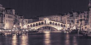 Venice at Night by Assaf Frank