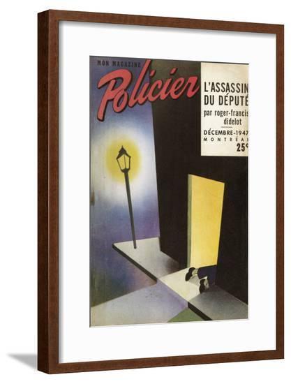 Assassin Du Depute 1947--Framed Giclee Print