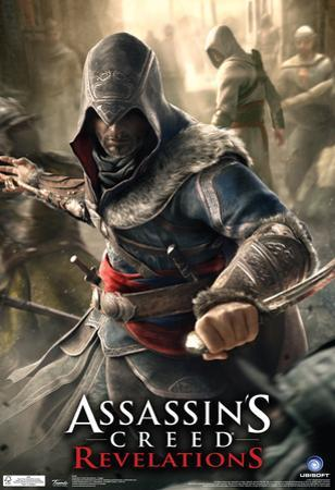 Assassin's Creed Revelations Dagger Video Game Poster