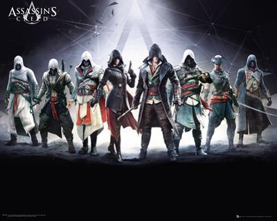 Assassins Creed- Gathering Of Characters