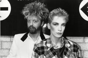 Annie Lennox and Dave Stewart the Eurythmics by Associated Newspapers