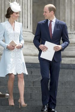 Catherine, Duchess of Cambridge and Prince William by Associated Newspapers