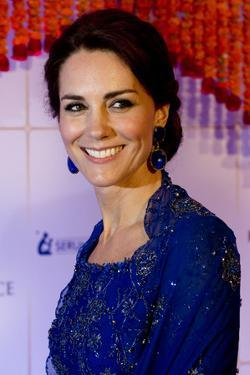 Catherine, Duchess of Cambridge at a Bollywood Gala Evening by Associated Newspapers