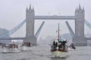 Diamond Jubilee Thames River Pageant by Associated Newspapers