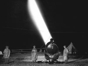 Home Defence Searchlight by Associated Newspapers
