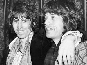 Keith Richards and Mick Jagger Celebrate by Associated Newspapers