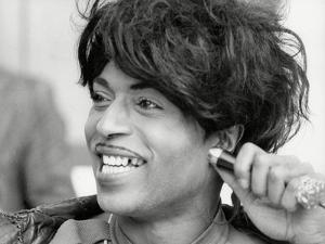 Little Richard Smiles by Associated Newspapers
