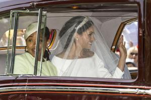 Meghan Markle and her mother Doria Ragland by Associated Newspapers