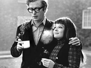 Michael Caine and Anna Calder Marshall by Associated Newspapers