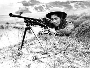 Poland Women's Services Sniper by Associated Newspapers