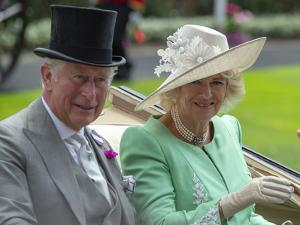 Prince Charles and Camilla, Duchess of Cornwall arriving at Royal Ascot by Associated Newspapers
