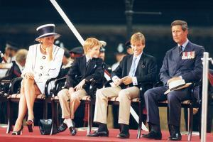 Prince Charles and Diana Princess of Wales, Prince William and Prince Harry by Associated Newspapers