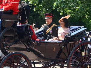 Prince Harry and Meghan, Duchess of Sussex?at the Trooping of the Colour by Associated Newspapers