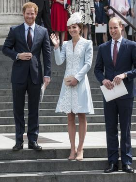Prince Harry, Catherine, Duchess of Cambridge and Prince William by Associated Newspapers