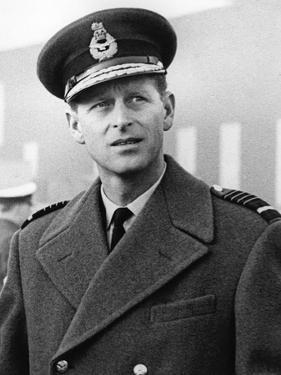 Prince Philip in uniform by Associated Newspapers