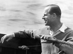 Prince Philip sailing by Associated Newspapers