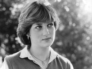 Princess Diana Meeting the Press for the First Time by Associated Newspapers