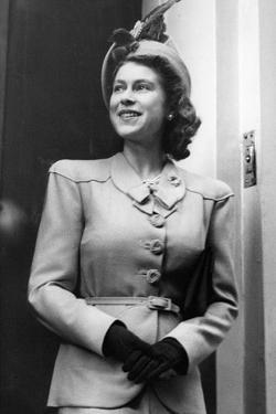 Princess Elizabeth (Queen Elizabeth II) in London by Associated Newspapers