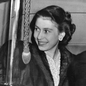 Princess Elizabeth (Queen Elizabeth II) on her 23rd birthday by Associated Newspapers