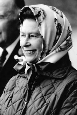 Queen Elizabeth at Windsor Horse Show by Associated Newspapers