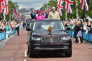 Queen Elizabeth II 90th birthday celebrations by Associated Newspapers