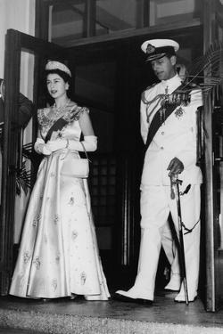 Queen Elizabeth II and Prince Philip in Lagos, Nigeria by Associated Newspapers