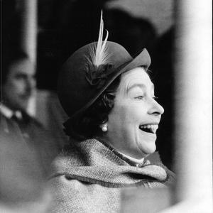 Queen Elizabeth II at Badminton Horse Trials by Associated Newspapers