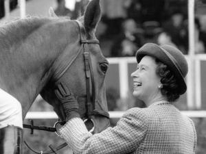 Queen Elizabeth II at Royal Windsor Horse Show by Associated Newspapers