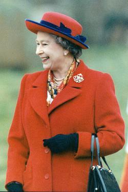 Queen Elizabeth II in Norfolk by Associated Newspapers