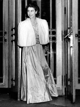Queen Elizabeth Ii the Day She Was Engaged to Prince Philip by Associated Newspapers