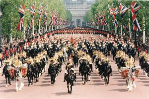 Queen Elizabeth II, Trooping the Colour by Associated Newspapers