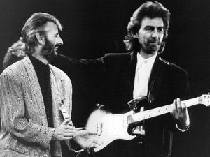Ringo Starr and George Harrison In, 1988 by Associated Newspapers