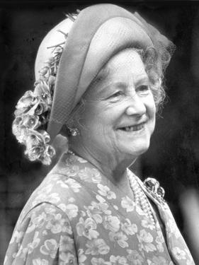 The Queen Mother in 1980 by Associated Newspapers