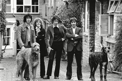 The Who, with Dogs