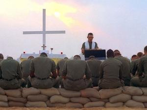 Chaplain Service by Associated Press