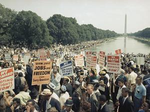 Civil Rights Washington March 1963 by Associated Press